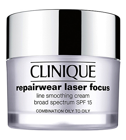 CLINIQUE Repairwear laser focus spf15 line smoothing cream for oily skin 50ml