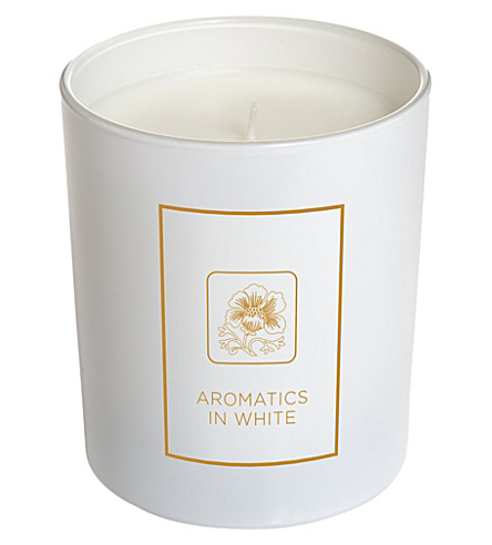 CLINIQUE Aromatics in White Candle 200g
