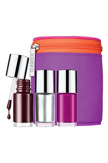 CLINIQUE Party Tips nail polish set