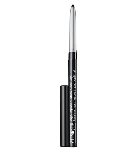 CLINIQUE High impact kajal eye pencil (Blackened+black