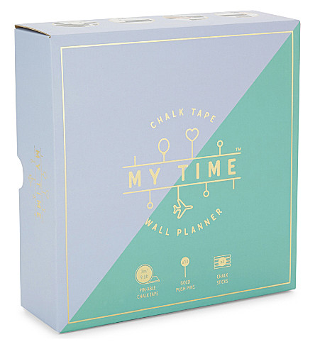 LUCKIES OF LONDON My Time chalk board wall planner
