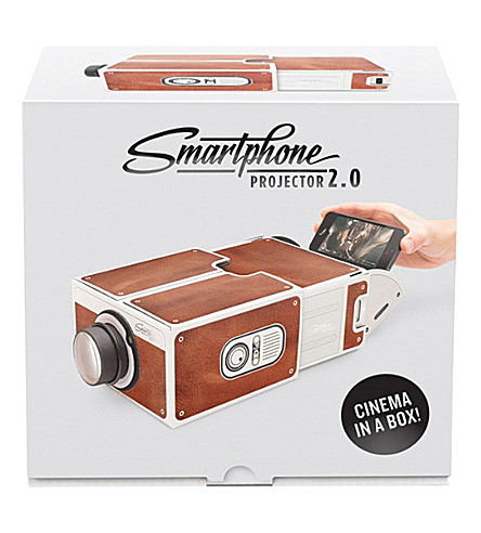 LUCKIES OF LONDON Smartphone Projector cardboard 2.0