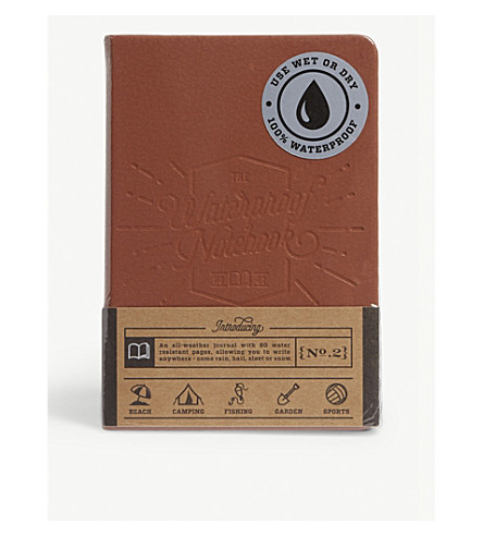 LUCKIES OF LONDON Waterproof notebook 2.0