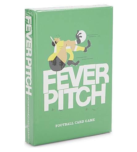 URBAN GRAPHIC Fever Pitch football card game