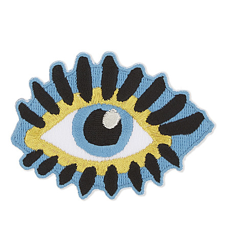 URBAN GRAPHIC Evil Eye iron-on patch