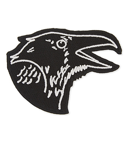 URBAN GRAPHIC Raven iron-on patch