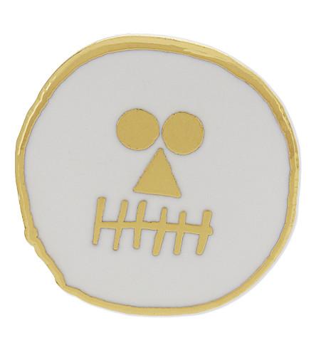 URBAN GRAPHIC Skull enamel pin