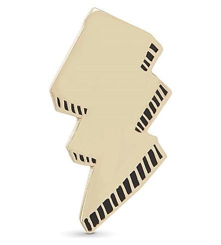 URBAN GRAPHIC Lightening Bolt enamel pin