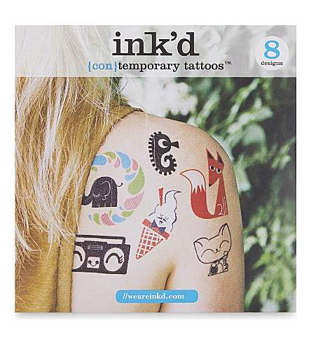 URBAN GRAPHIC Peskimo temporary tattoos