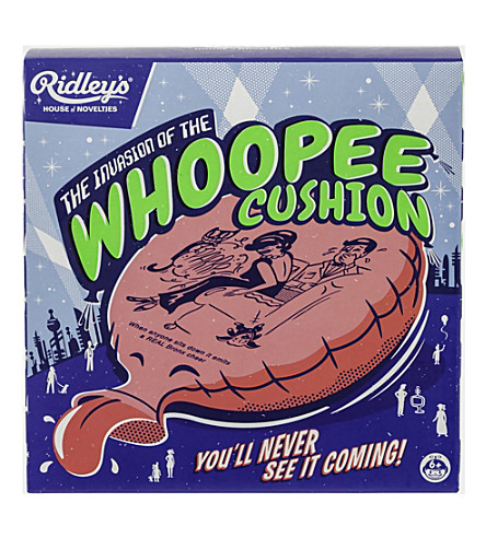 WILD & WOLF Ridley's whoopee cushion