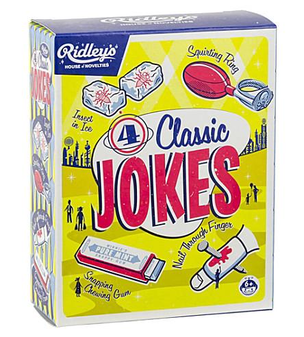 WILD & WOLF 4 Classic Jokes kit
