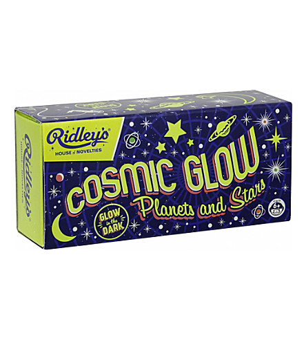 WILD & WOLF Cosmic Glow planets and stars glow in the dark stickers