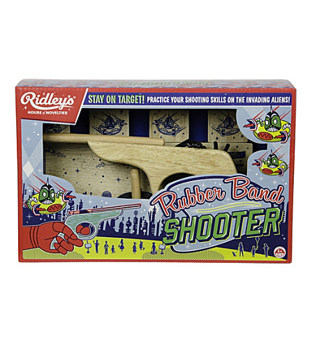 WILD & WOLF Rubber band shooter game