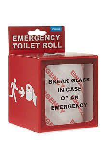 NONE Emergency novelty toilet roll