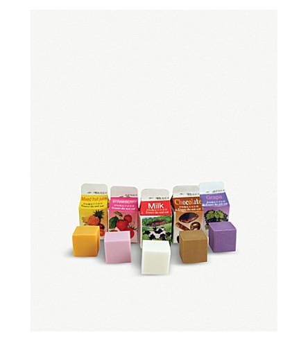 KIKKERLAND Scented erasers pack of 5