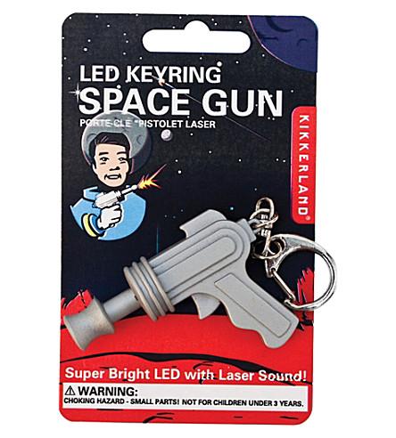 KIKKERLAND Space Gun led keyring