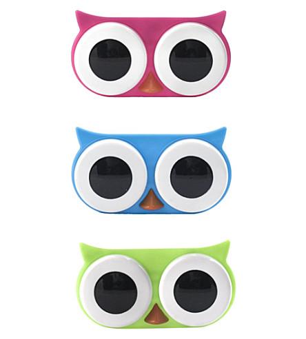 KIKKERLAND Owl contact lens case