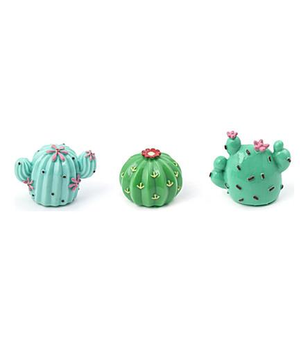 KIKKERLAND Cactus lip balm set