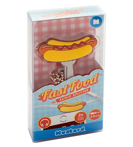 MUSTARD Hot dog audio splitter