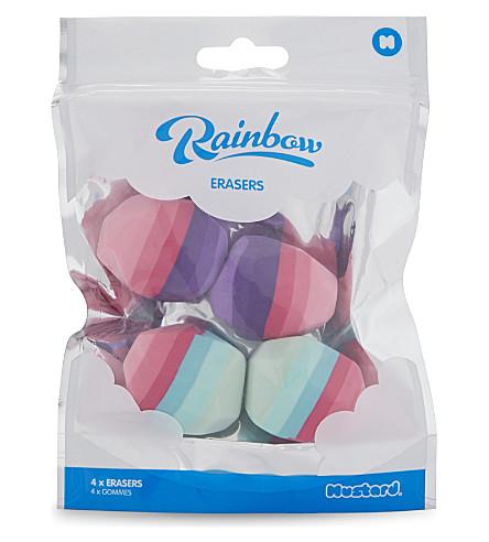 MUSTARD Rainbow erasers