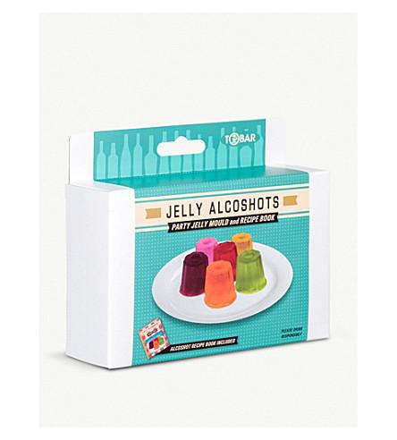 TOBAR Jelly shot mould set
