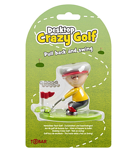 TOBAR Desktop crazy golfer