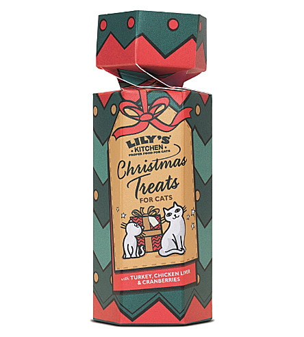 ROLL WRAP Christmas Cracker Treats for Cats
