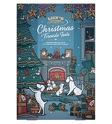 ROLL WRAP Christmas advent calendar for dogs