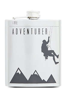 THE GENTLEMAN'S TIPPLE The Adventurer hip flask