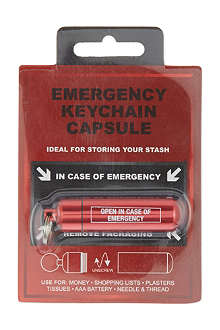 NONE Emergency keychain capsule
