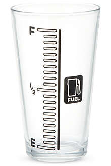 NONE Beer gauge drinking glass