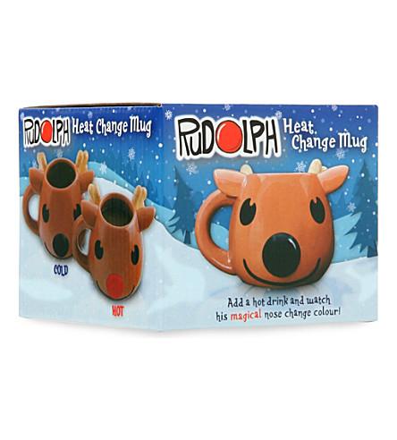 PALADONE Rudolph heat change mug