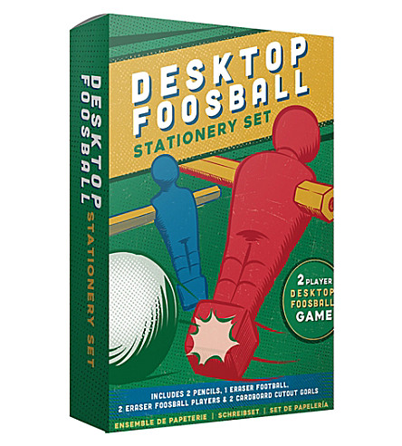 PALADONE Desktop foosball stationery set