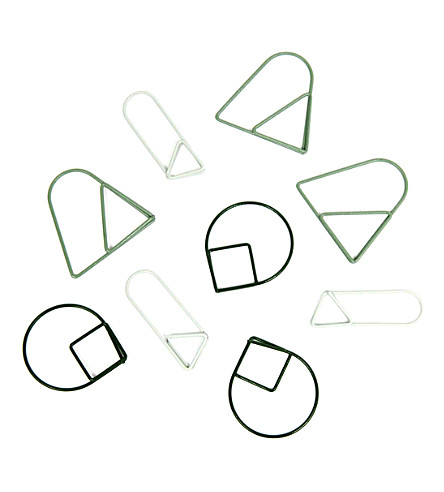 AREAWARE Geometric paper clips