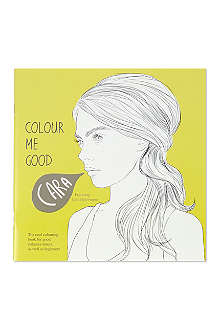 I LOVE MEL Cara Delevingne colouring book