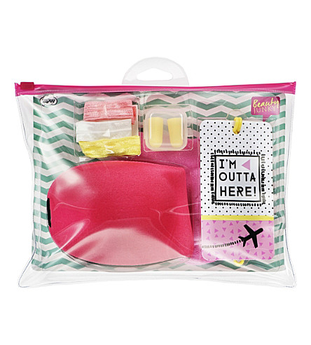 NPW Beauty junky inflight travel kit