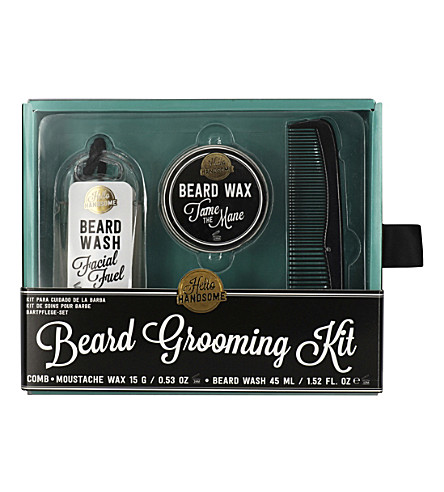 NPW Hello handsome beard grooming kit