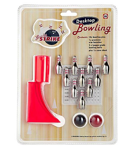 NPW Desktop bowling game