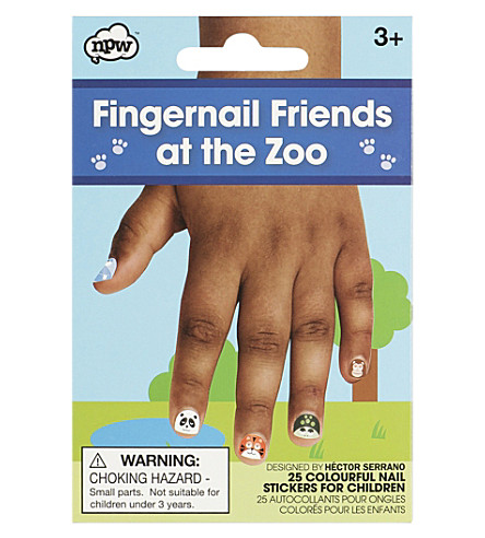 NPW Fingernail friends at the zoo