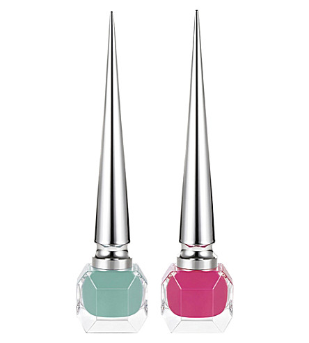 CHRISTIAN LOUBOUTIN Loubitag 1 Collection nail polish 2x6ml