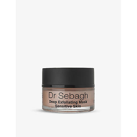 DR SEBAGH Deep exfoliating mask sensitive skin formulation 50ml