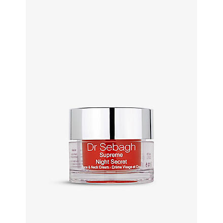 DR SEBAGH Suprême Night Secret face & neck cream
