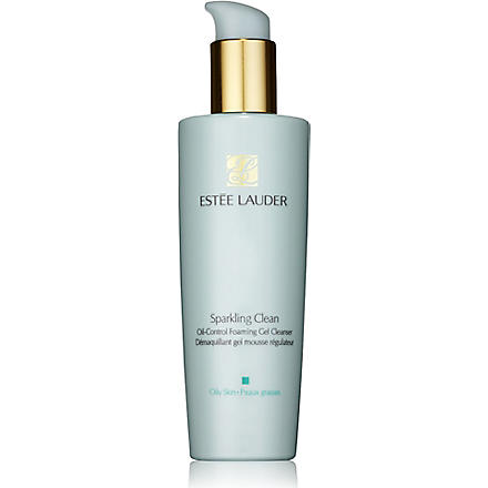 ESTEE LAUDER Sparkling Clean Oil Control Foaming Gel Cleanser for Oily Skin