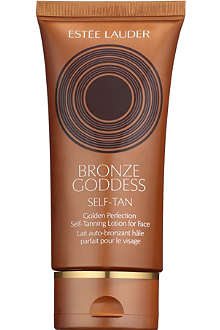 ESTEE LAUDER Bronze Goddess Golden Perfection Self–Tanning Lotion for Face