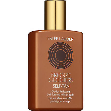 ESTEE LAUDER Bronze Goddess Golden Perfection Self–Tanning Milk for Body 150ml