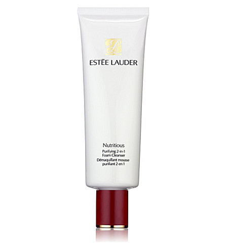 ESTEE LAUDER Nutritious purifying 2–in–1 foaming cleanser