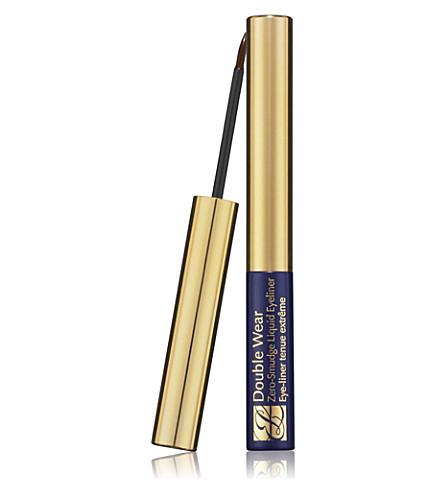 ESTEE LAUDER Double Wear Zero–Smudge Liquid Eyeliner (Brown
