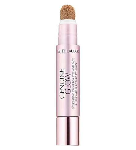 ESTEE LAUDER Genuine glow eyelighting crème for eyes and face (Bare+blush
