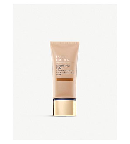 ESTEE LAUDER Double Wear Light Soft Matte Hydra Makeup SPF 10 30ml (Amber+honey