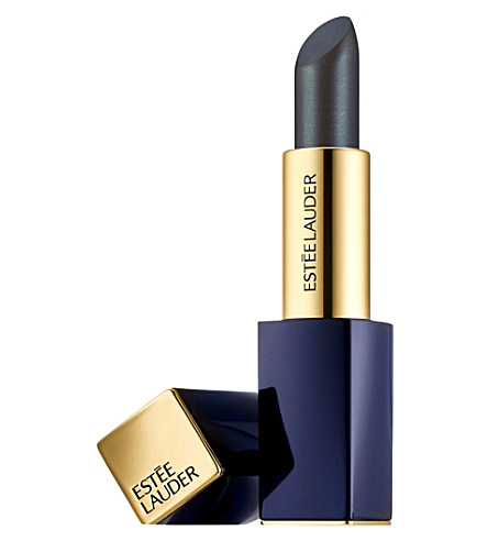 ESTEE LAUDER Pure Colour Envy Metallic Matte Sculpting Lipstick 3.5g (Bolted+black